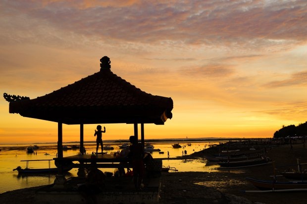Sanur Beach Sunset
