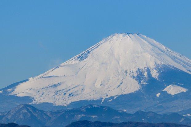 湘南から望む富士
