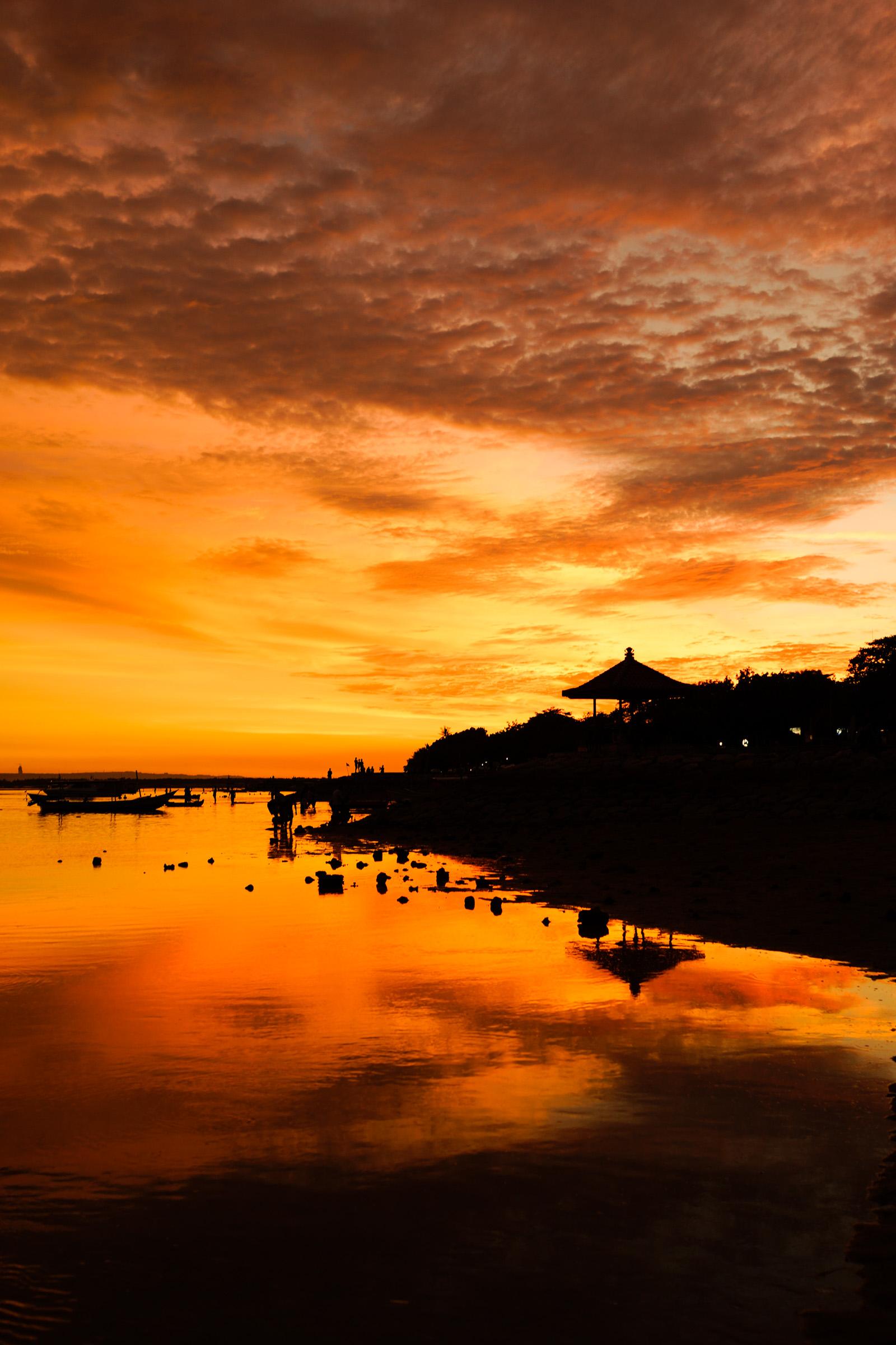 sanur beach sunset アデリープランニング株式会社